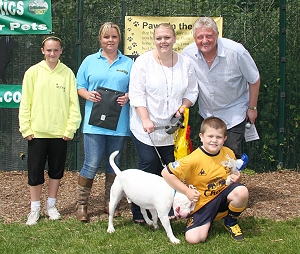 Best Rescue Dog Winner Louise & Alex