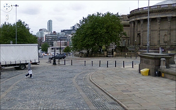 William Brown Street Looking Down Towards The Mersey Tunnel